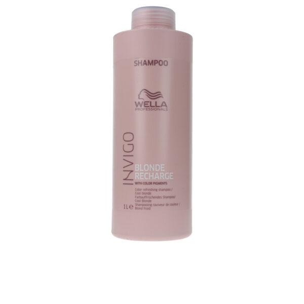 INVIGO BLONDE RECHARGE color refreshing shampoo 1000  ml by Wella