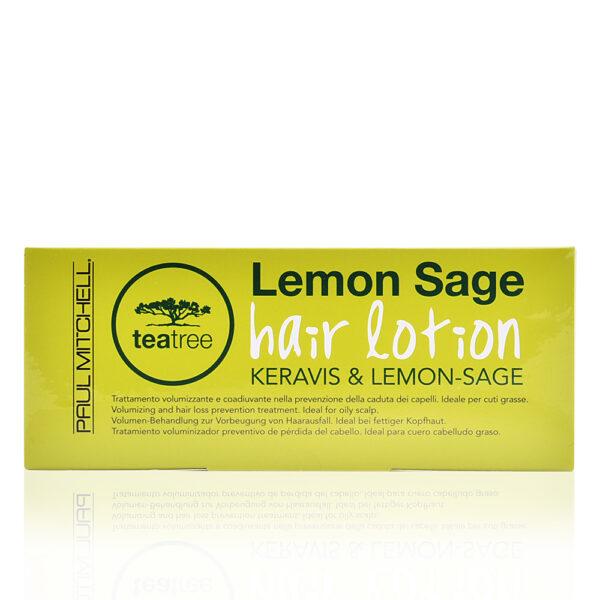 TEA TREE LEMON SAGE hair lotion 12 x 6 ml by Paul Mitchell