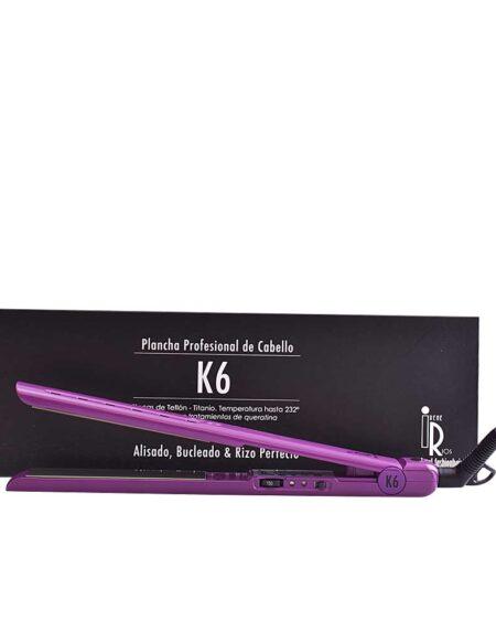 K6 plancha profesional de cabello #lila by Irene Ríos