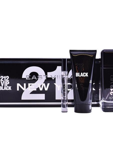212 VIP BLACK LOTE 3 pz by Carolina Herrera