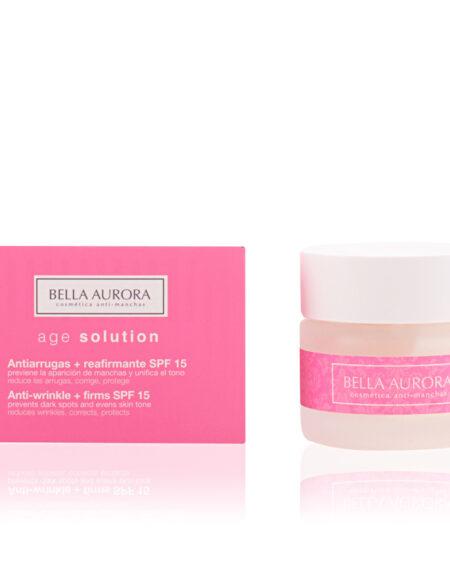 AGE SOLUTION antiarrugas & reafirmante SPF15 50 ml by Bella Aurora