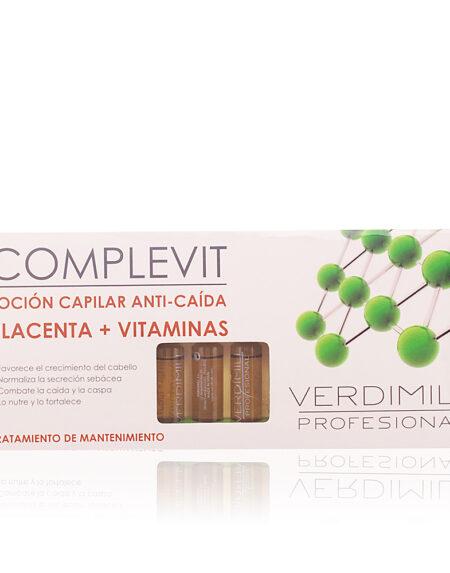 VERDIMILL PROFESIONAL anti-caida placenta 12 ampollas by Verdimill