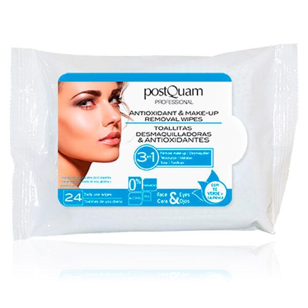 REMOVAL WIPES antioxidant make up  24 uds by Postquam