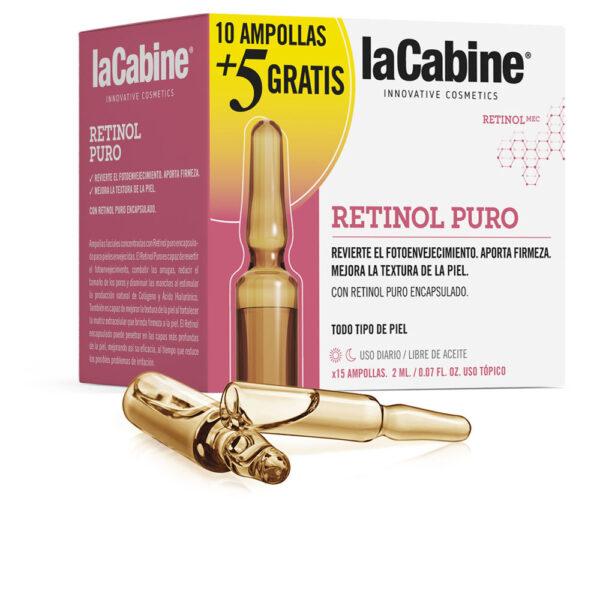 AMPOLLAS RETINOL PURO 10 x 2 ml + RECUPERADOR NOCHE 5 x 2 ml by La Cabine