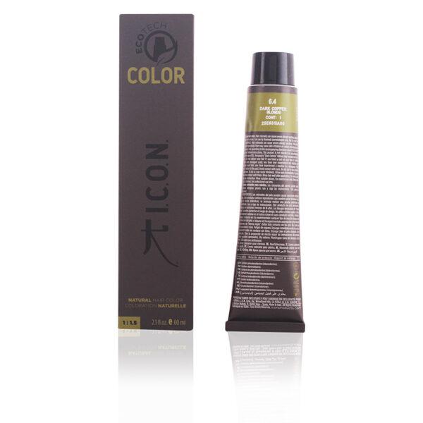 ECOTECH COLOR natural color #6.4 dark copper blonde 60 ml by I.C.O.N.