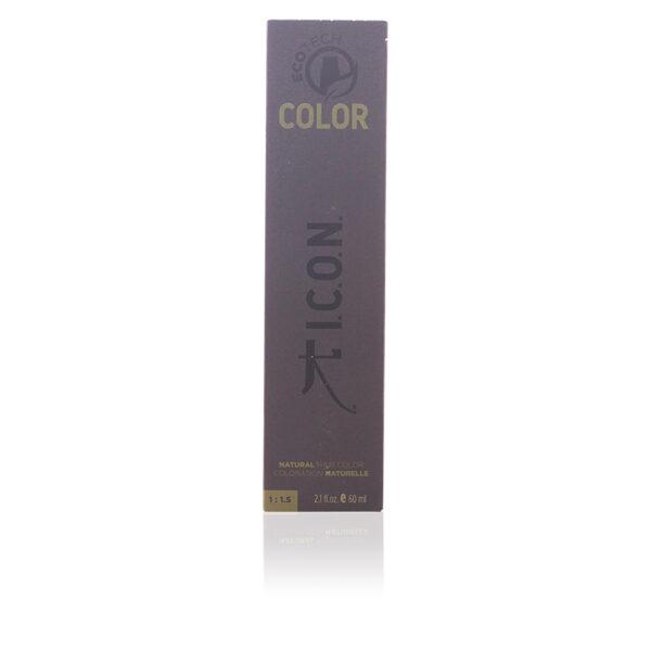 ECOTECH COLOR natural color #4.5 medium mahogany brown 60 ml by I.C.O.N.