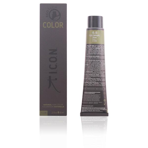 ECOTECH COLOR natural color #5.5 light mahogany brown 60 ml by I.C.O.N.
