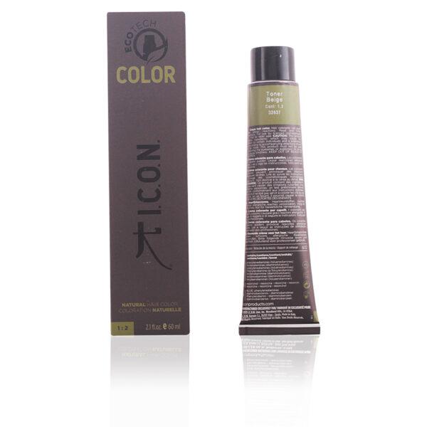 ECOTECH COLOR natural color #toner beige 60 ml by I.C.O.N.