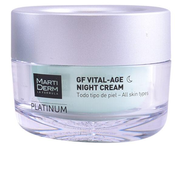 PLATINUM GF VITAL AGE night cream 50 ml by Martiderm