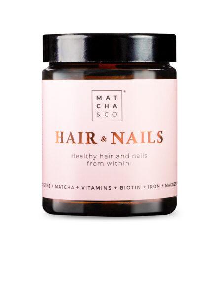 HAIR & NAILS 60 vegan capsules by Matcha & Co