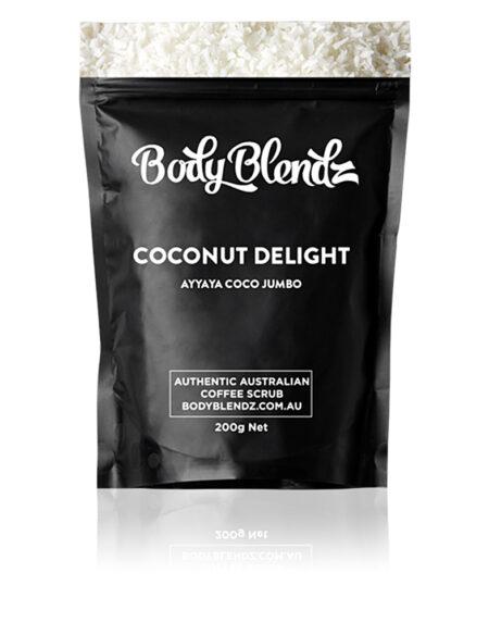 COCONUT DELIGHT AYYAYA COCO JUMBO natural body scrub 200 gr by Body Blendz